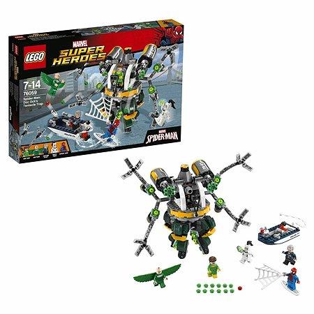 Конструктор LEGO Super Heroes Человек-паук: в ловушке Доктора Осьминога (76059)