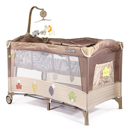 Манеж-кровать Babyton Dreamy Brown P610