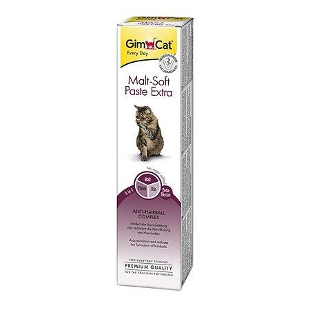 Паста для кошек Gimcat Мальт-Софт-Экстра выведение шерсти 50г