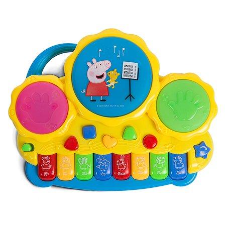 Пианино Свинка Пеппа Pig с барабанами 30965
