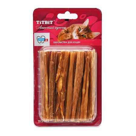 Лакомство для кошек TITBIT Кишки говяжьи 24 г