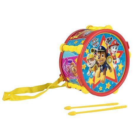 Барабан Щенячий патруль с ремешком 32683