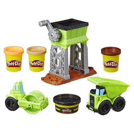 Набор Play-Doh Wheels Веселая стройка E4293EU4