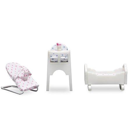Мебель для домика Lundby Детская для малыша 4предмета LB_60208600