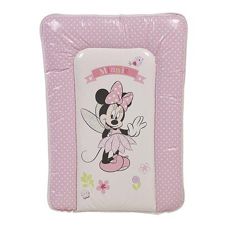 Доска пеленальная Polini kids Disney baby Минни Маус Фея Розовый