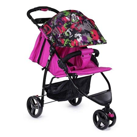 Коляска прогулочная Babyton Rapid Pink P100