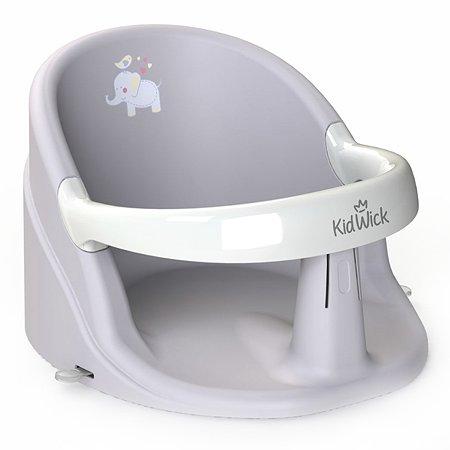 Сиденье для купания KidWick Немо Серое-Белое