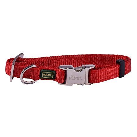 Ошейник для собак Hunter Alu-Strong S Красный