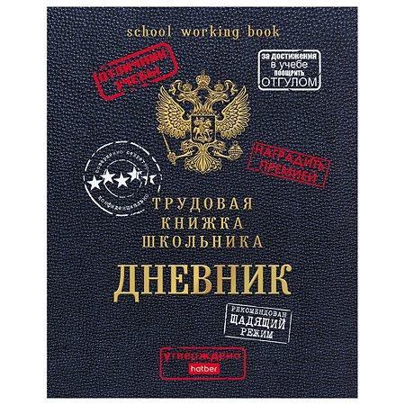 Дневник школьный Hatber Трудовая книжка школьника А5 40л 64010