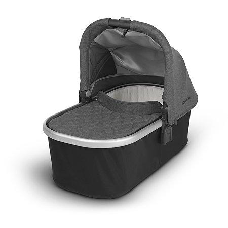 Люлька для коляски UPPAbaby Cruz и Vista 2018 Jordan Black-Grey malange