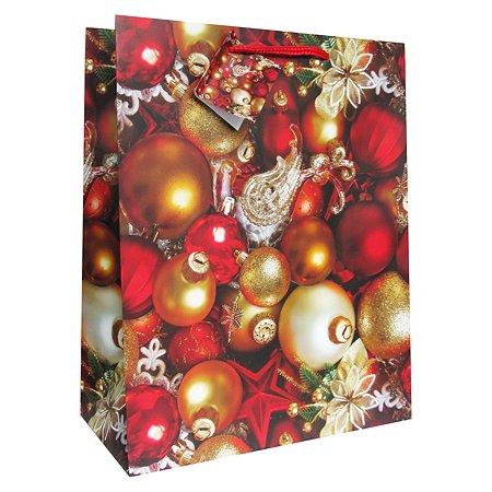 Пакет Eureka подарочный НГ. 26x32.5x12.5 см EUX/140315