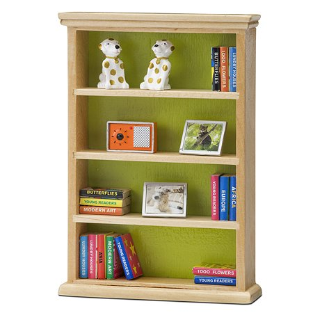 Мебель для домика Lundby Смоланд Книжный шкаф 22предмета LB_60305000