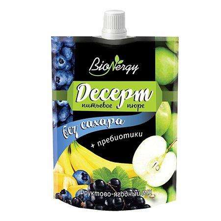 Консервы Bionergy Десерт голубика-яблоко-черная смородина-банан 140г