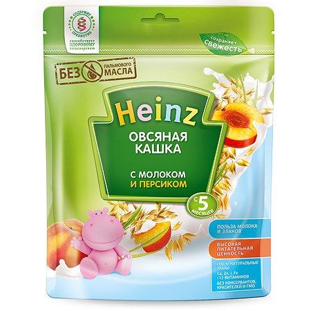 Каша Heinz молочная овсяная с персиком 250г с 5месяцев