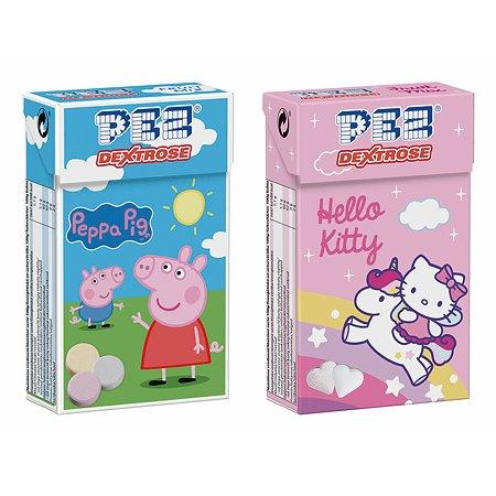 Конфеты PEZ с фруктовым вкусом на основе декстрозы 30г в ассортименте