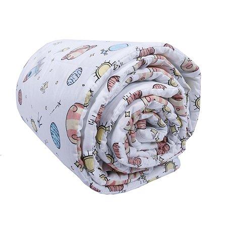 Бортик для кроватки Babyton Космос 10125