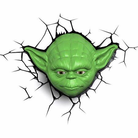 Светильник 3D 3DLightFx Star Wars Yoda Face