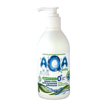 Крем-гель AQA baby для купания малыша 300 мл