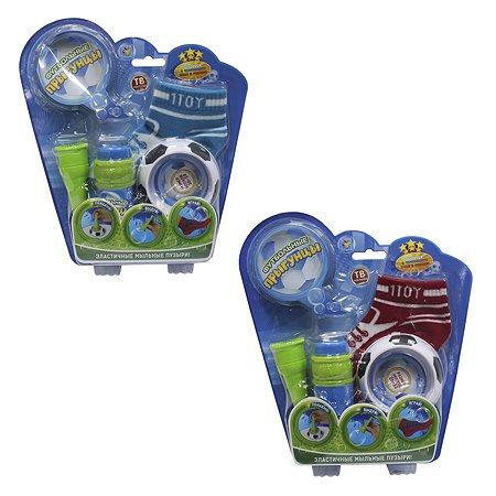 Мыльные пузыри 1TOY Футбольные Прыгунцы в ассортименте