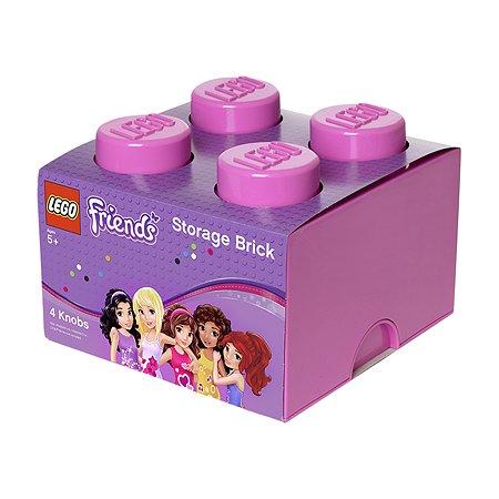Система хранения LEGO 4 Friends лиловый