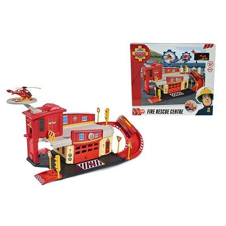 Пожарный гараж Fireman Sam с акс. и машинка