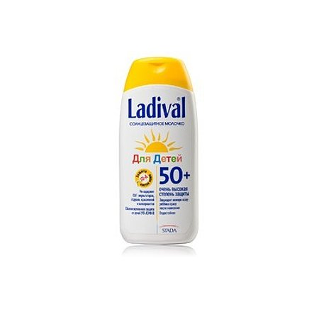Солнцезащитное молочко Ладиваль для детей SPF 50+ 200 мл