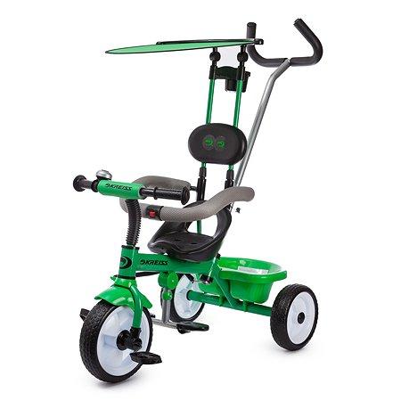Велосипед Kreiss с тентом Зеленый