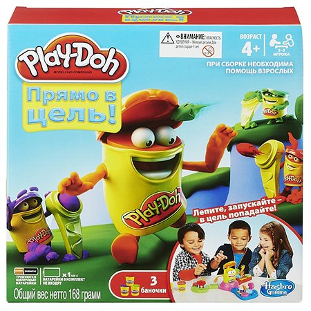 Игра Hasbro Games Play-Doh настольная