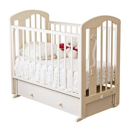 Кровать детская Красная Звезда (Можга) Агата С719 Слоновая кость