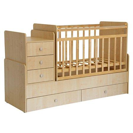 Кровать детская Фея 1100 Клен 0001033.1