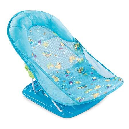 Лежак для купания Summer Infant Deluxe Baby Bather с подголовником Голубой