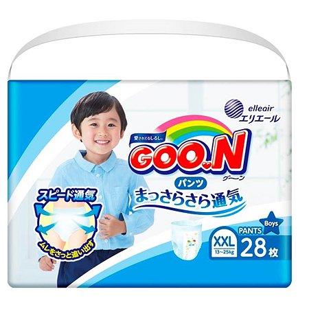 Подгузники-трусики Goon для мальчиков XXL 13-25кг 28шт