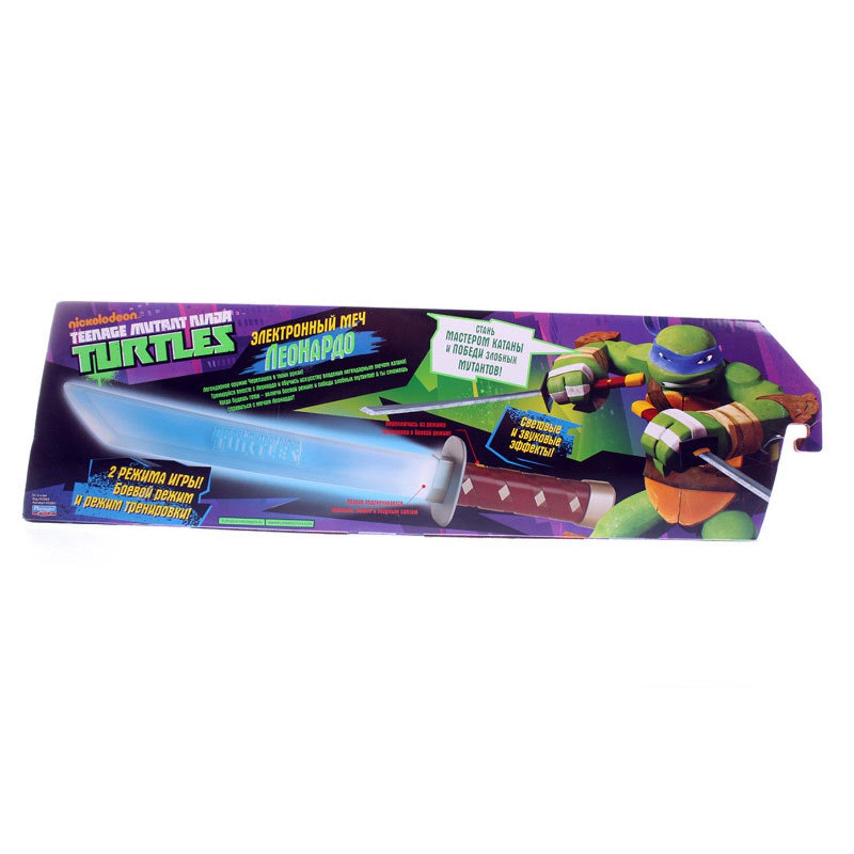 Электронный меч Леонардо Ninja Turtles(Черепашки Ниндзя ...