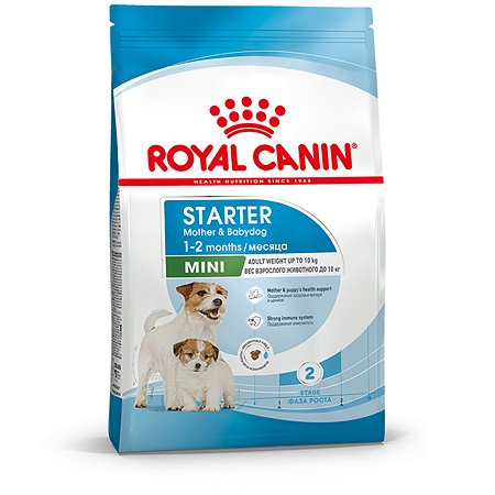 Корм для щенков ROYAL CANIN Starter мелких пород 1кг