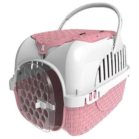 Переноска для животных Bama Pet Kennel Tour Maxi Розовая 19120
