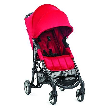 Коляска Baby Jogger City Mini Zip с бампером Red
