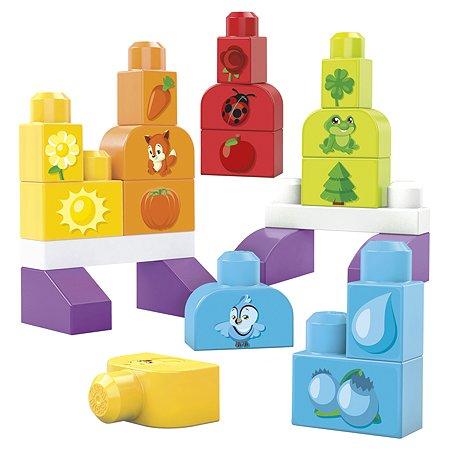 Конструктор Mega Bloks Изучаем цвета DHX33