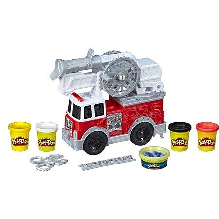 Набор игровой Play-Doh Wheels Масса для лепки Пожарная машина E6103EU4