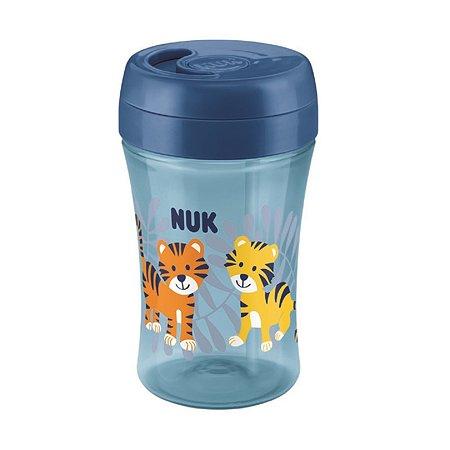 Бутылочка-поильник Nuk Fun 300мл с 18месяцев Blue 10750187