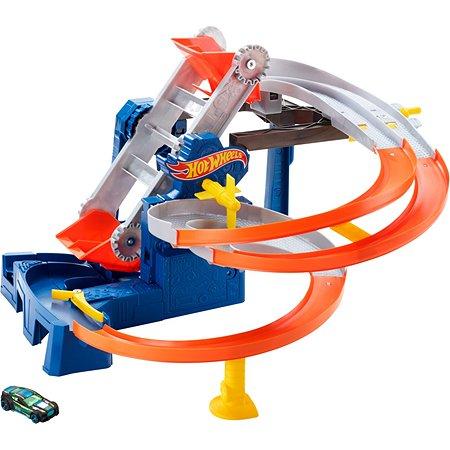 Набор игровой Hot Wheels Сити автотрек Транспортер FDF28