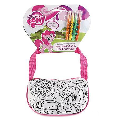 Набор для творчества Multiart сумочка для росписи маленькая