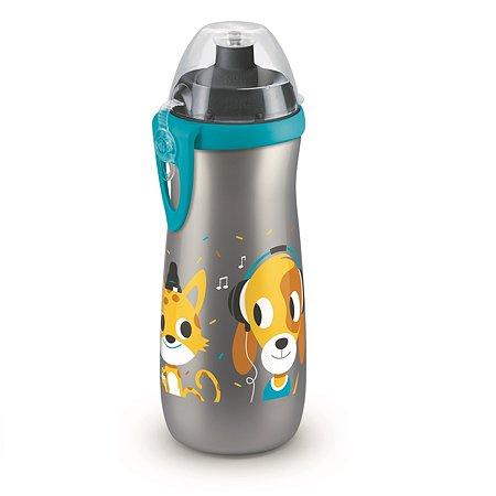 Бутылочка-поильник Nuk Sports 450мл с 3лет Blue 10750146
