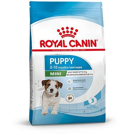 Корм для щенков ROYAL CANIN Puppy мелких пород 4кг