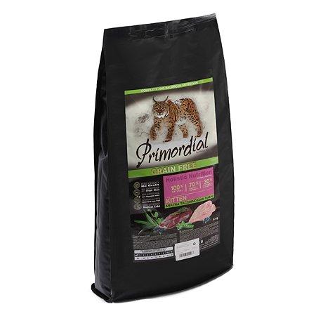 Корм сухой для котят Primordial 6кг беззерновой утка-индейка
