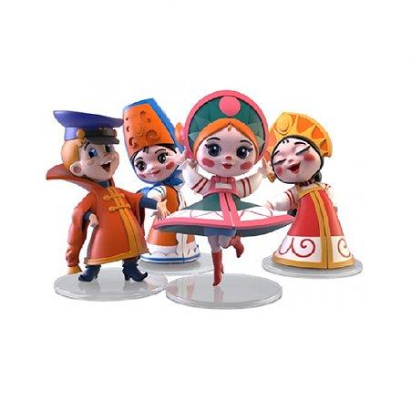 Набор фигурок Prosto toys Вовка и Василисы