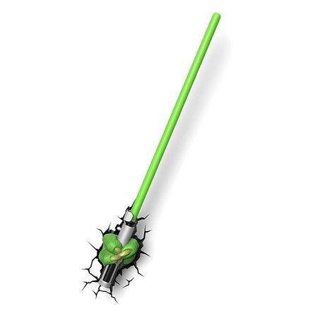 Светильник 3D 3DLightFx Star Wars Yoda Saber