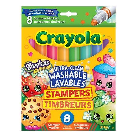 Штампики Crayola Shopkins 8 шт