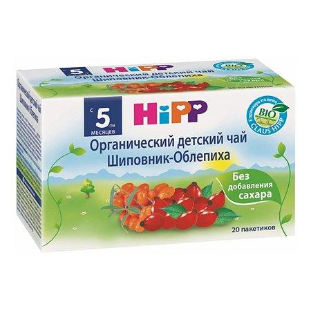 Чай Hipp шиповник-облепиха в пакетиках 30г с 5месяцев