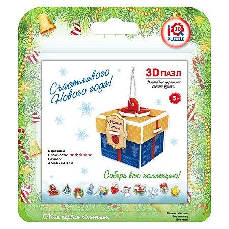 Новогоднее украшение IQ 3D PUZZLE Подарок