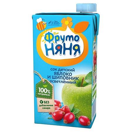 Сок ФрутоНяня из яблок и шиповника 0,5 л от 3 лет